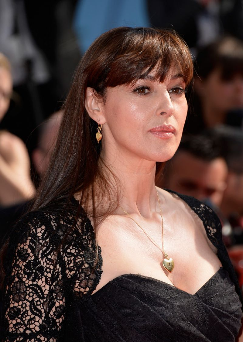 MONICA BELLUCCI at LeMmeraviglie Premiere at Cannes Film Festival