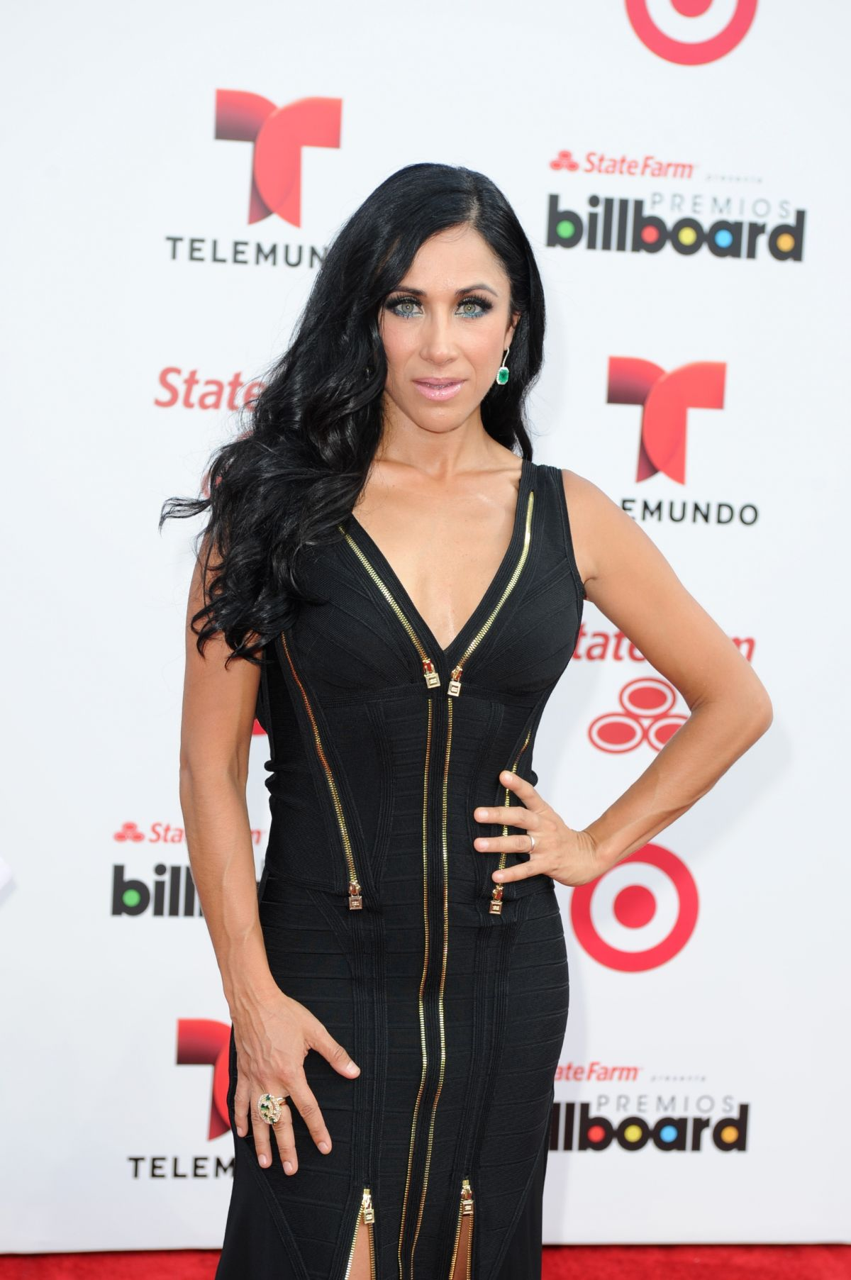MONICA NOGUERA at 2014 Billboard Latin Music Awards in Miami