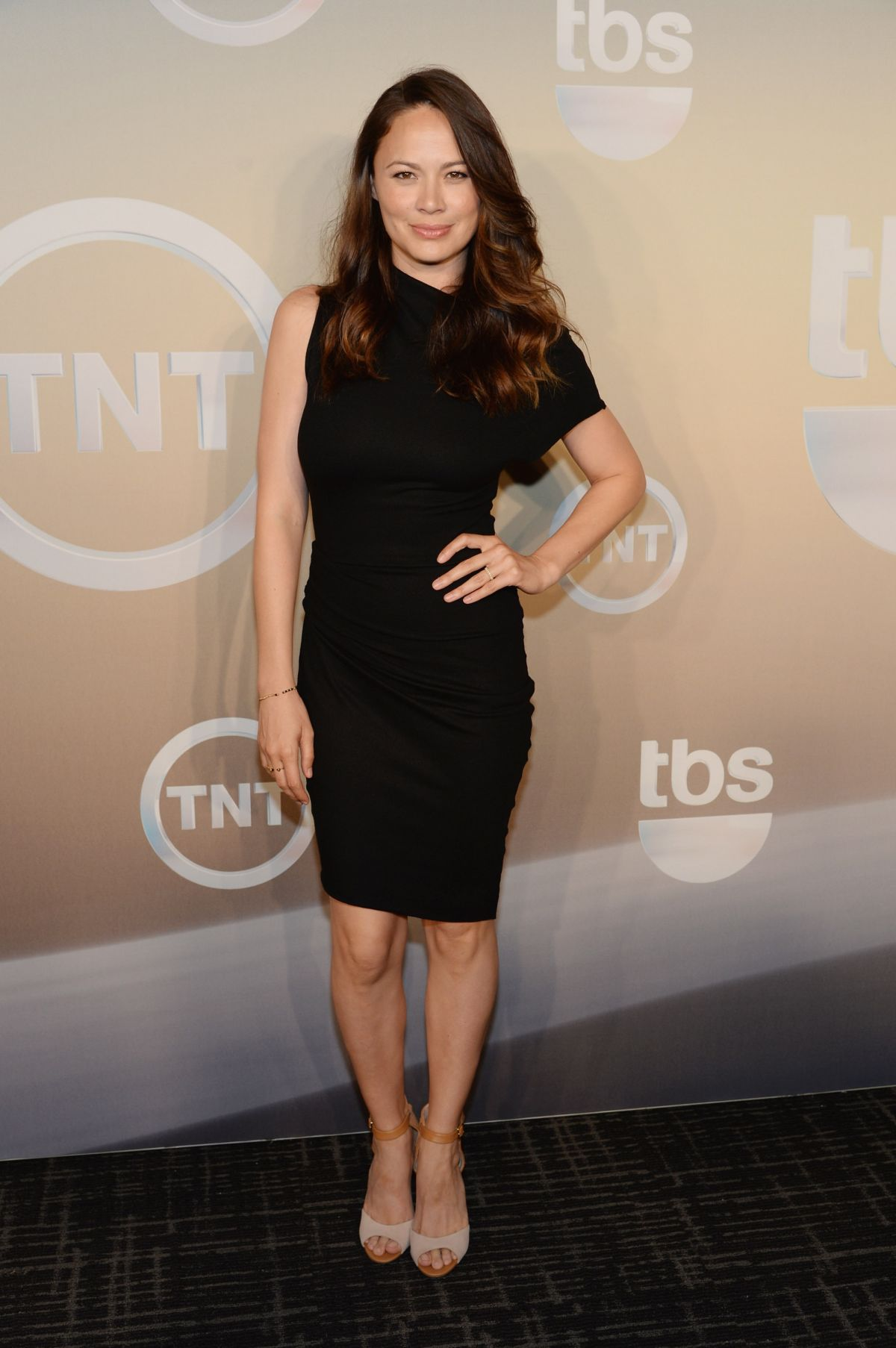 MOON BLOODGOOD at TBS/TNT Upfront 2014 in New York