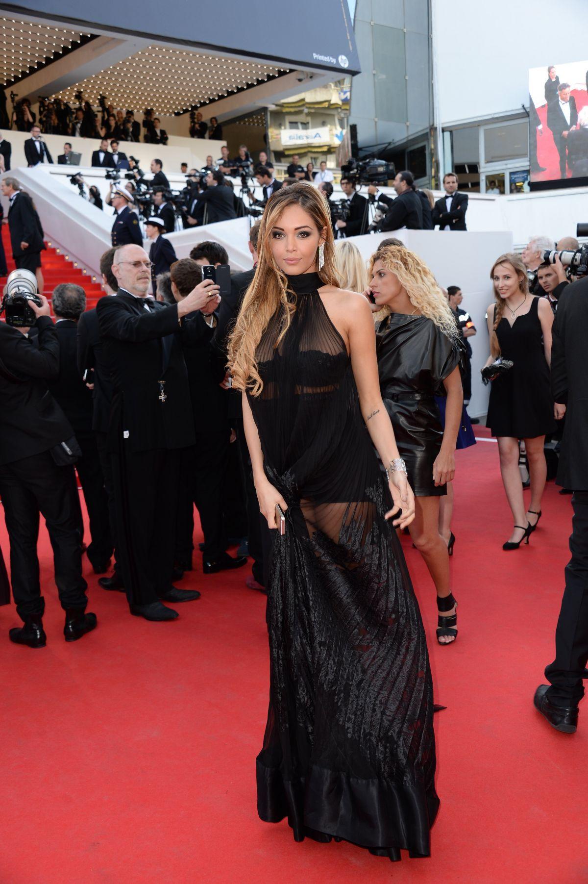 NABILLA BENATTIA at The Homesman Premiere at Cannes Film Festival