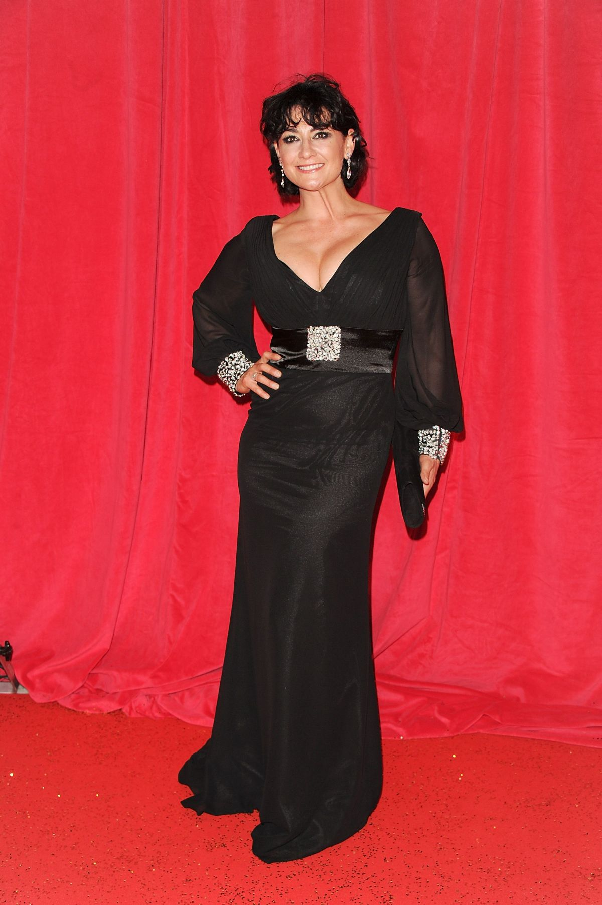 NATALIE J ROBB at British Soap Awards 2014 in London