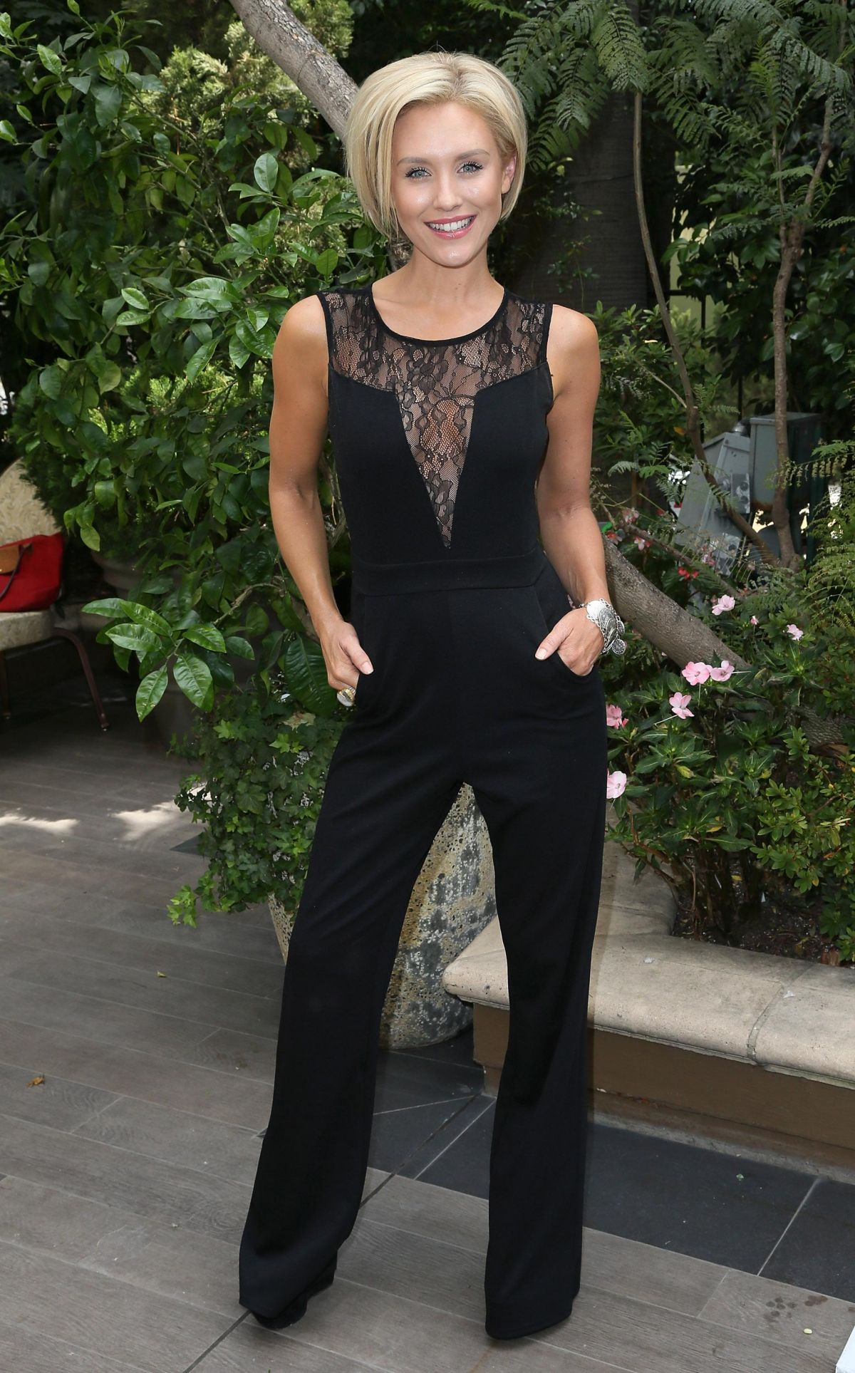 NICKY WHELAN at ABCS Mother's Day Luncheon in Los Angeles - HawtCelebs ...