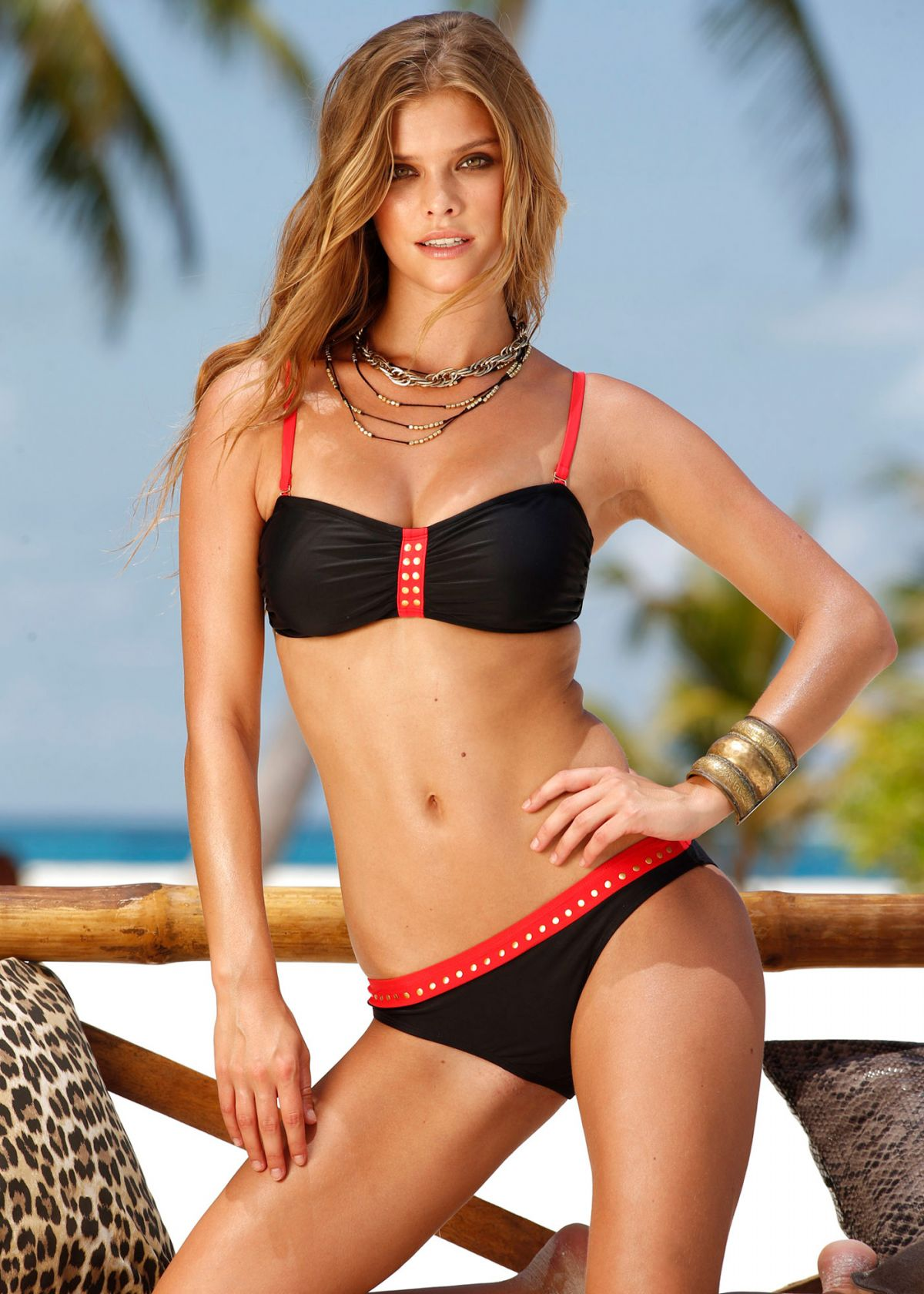 NINA AGDAL - Bonprix Swimwear, Spring 2014 Collection