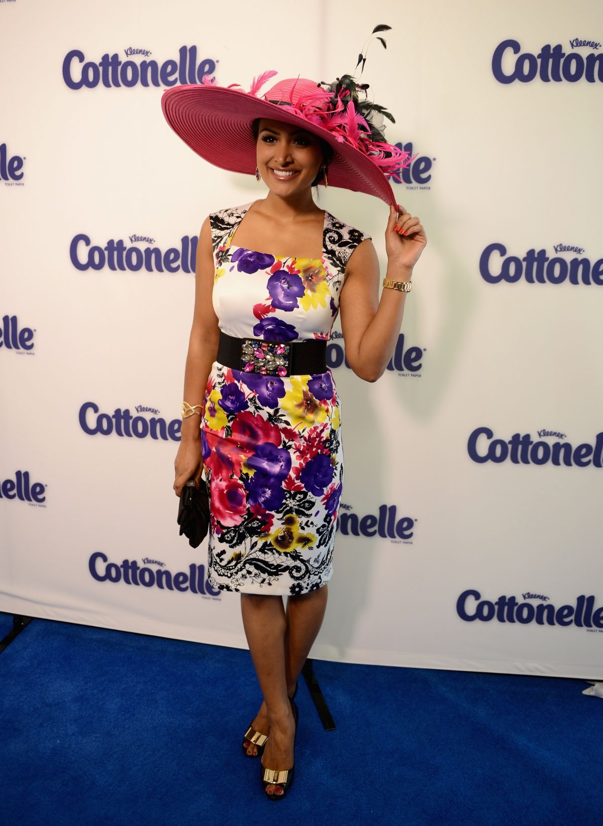 NINA DAVULURI at 140th Kentucky Derby