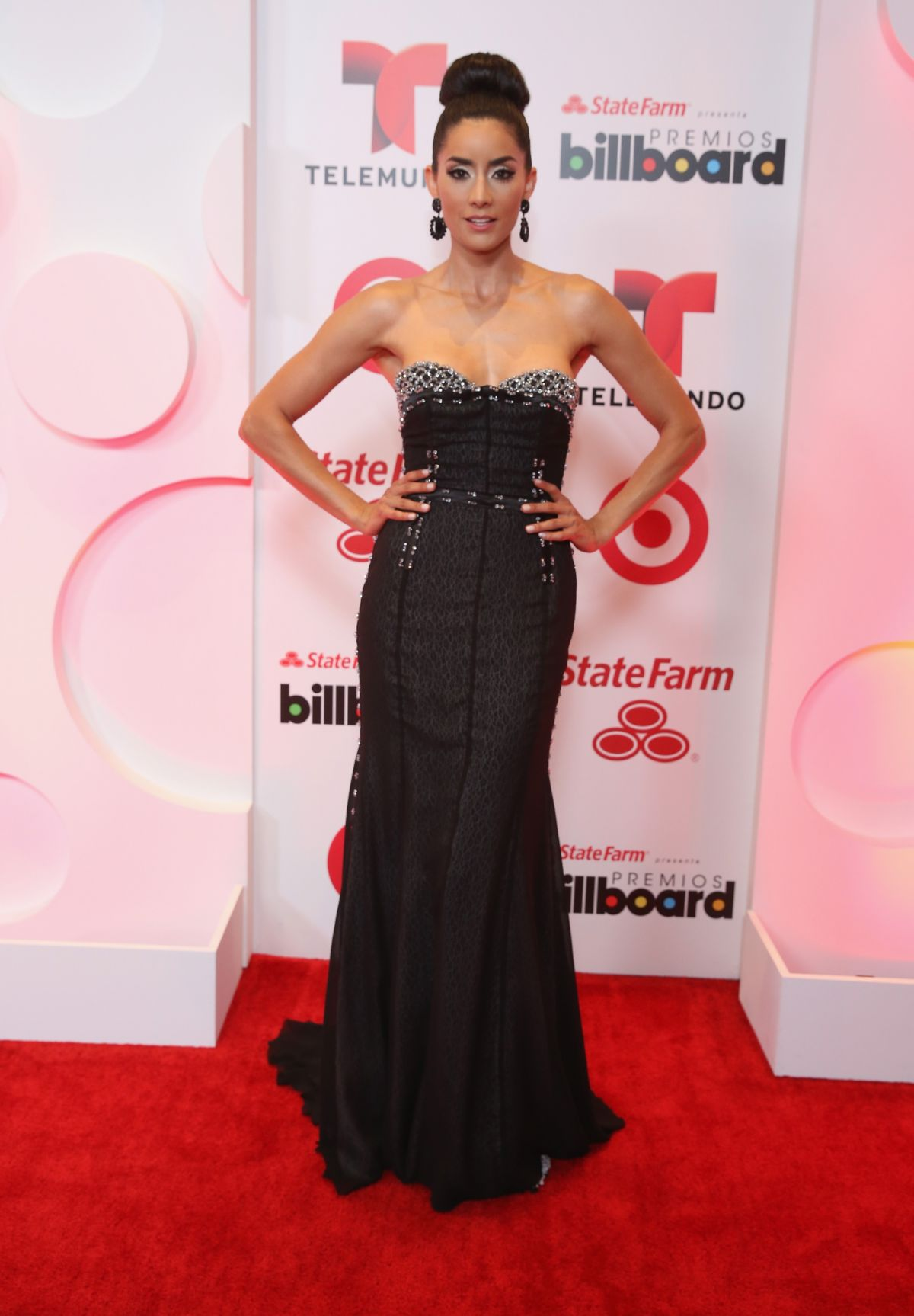 PAOLA NUNEZ at 2014 Billboard Latin Music Awards in Miami