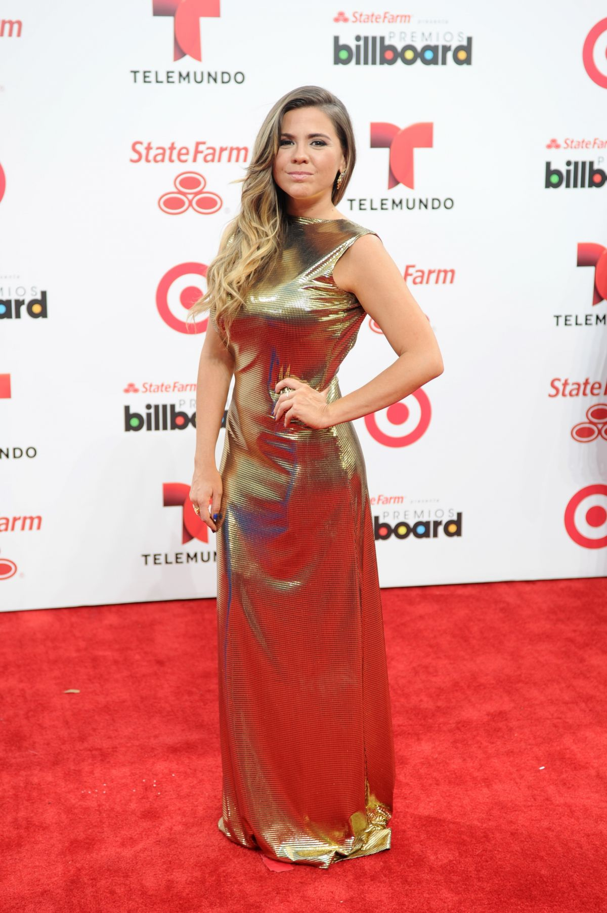 PAOLA PEDROZA at 2014 Billboard Latin Music Awards in Miami
