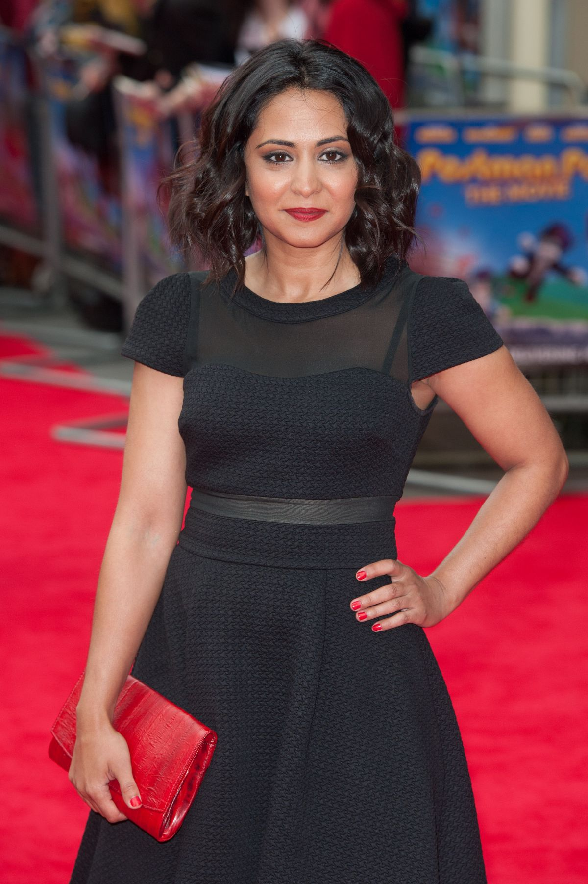 PARMINDER NAGRA at Postman Pat Premiere in London