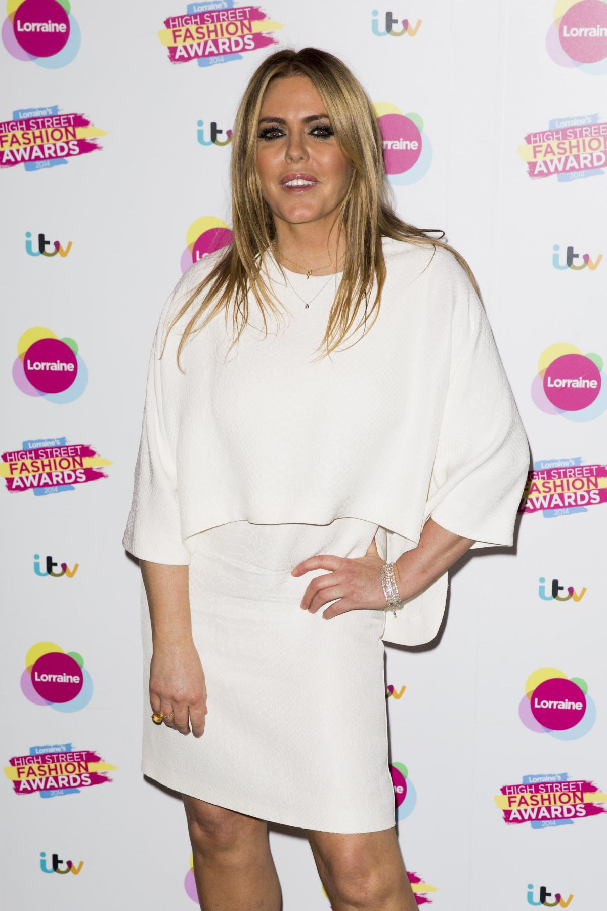 PATSY KENSIT at Lorraine's High Street Fashion Awatds in London