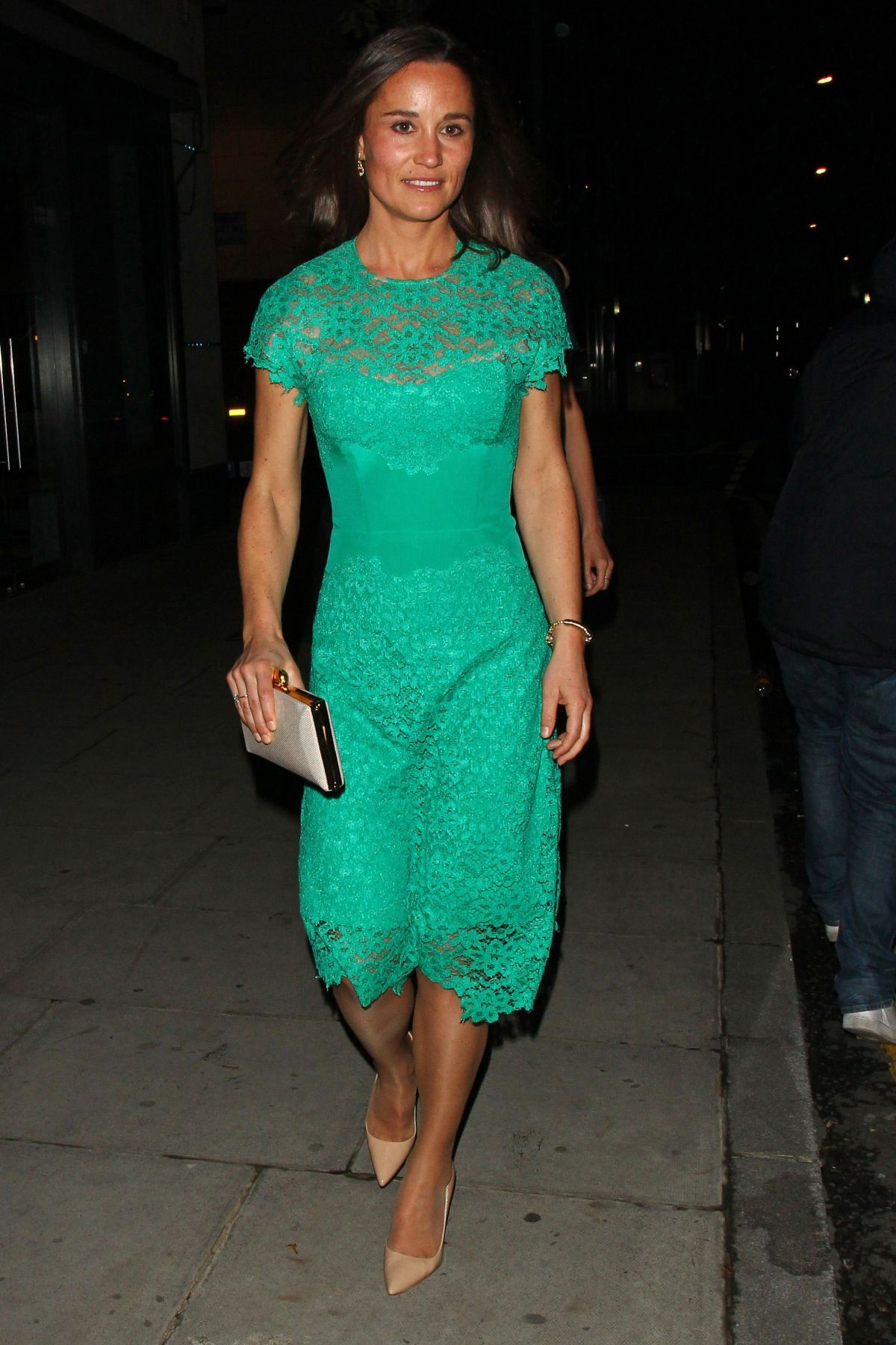 PIPPA MIDDLETON Leavies the Waitrose Summer Ball in London