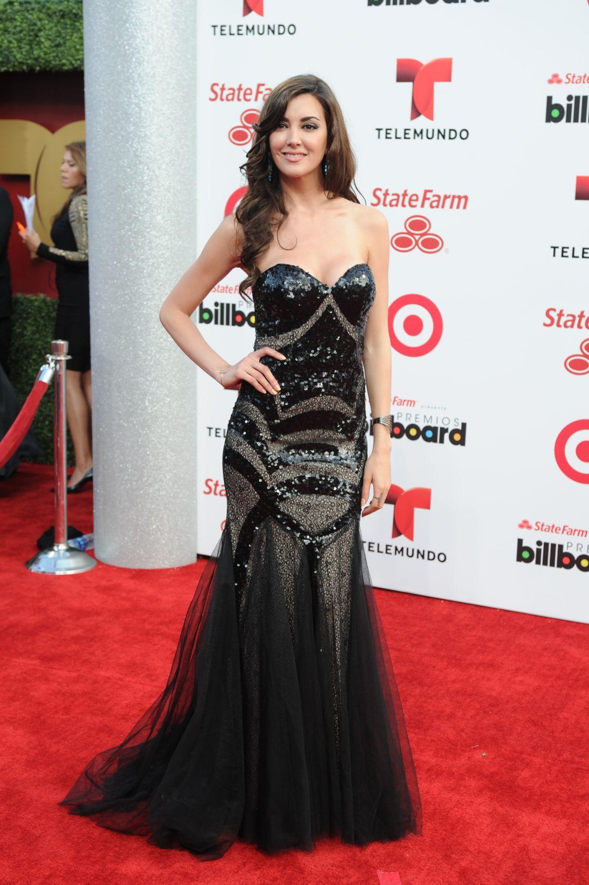 PRISCILA PERALES at 2014 Billboard Latin Music Awards in Miami