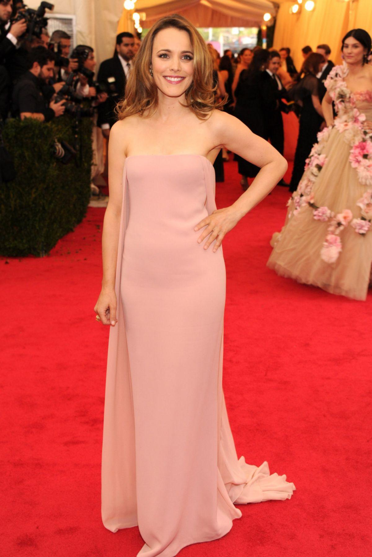 Rachel Mcadams At Met Gala 2014 In New York Hawtcelebs