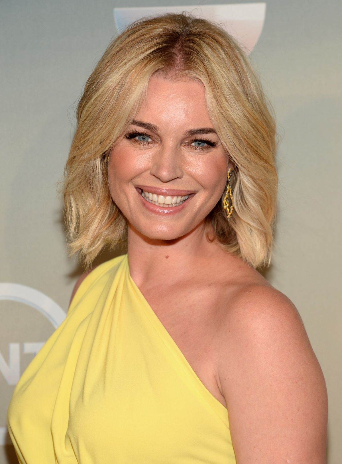 REBECCA ROMIJN at TBS/TNT Upfront 2014 in New York ...
