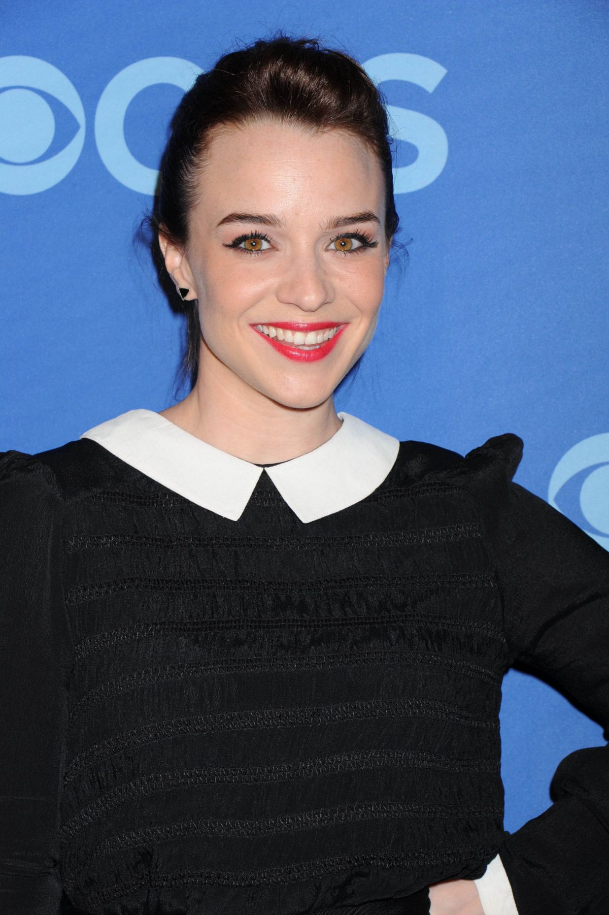 RENEE FELICE SMITH at CBS Upfront Presentation 2014 in New York