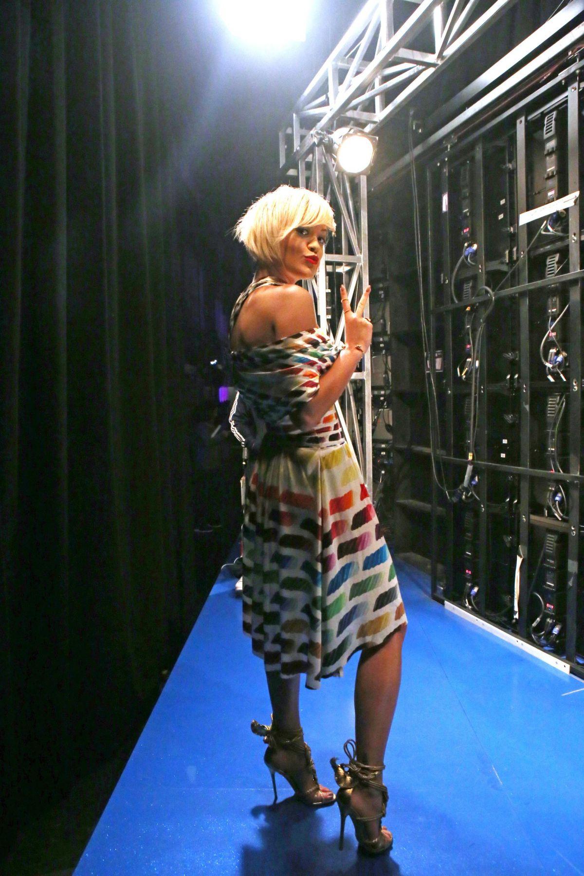 Rita Ora At 106fm Studio In New York Hawtcelebs