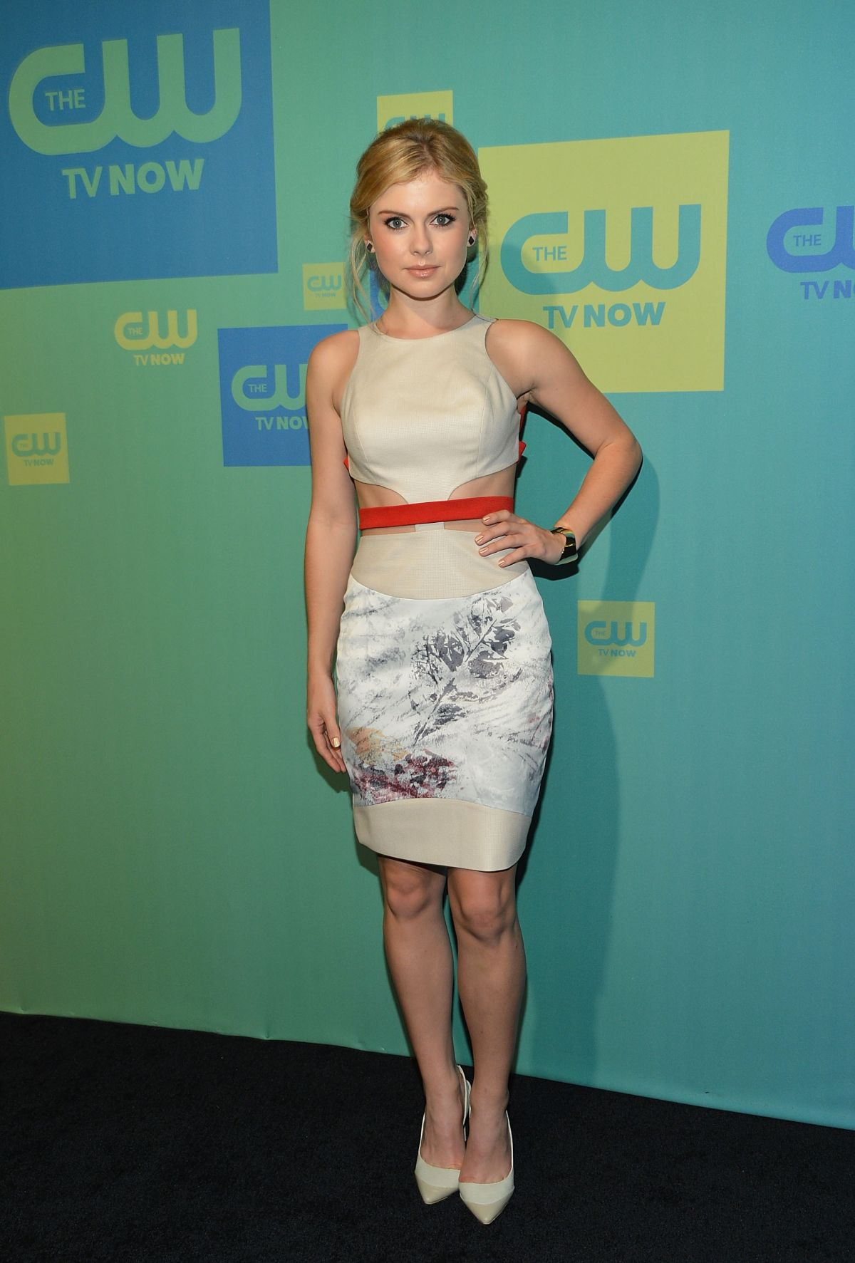 Rose McIver at the CW Networks 2017 Upfront at the London