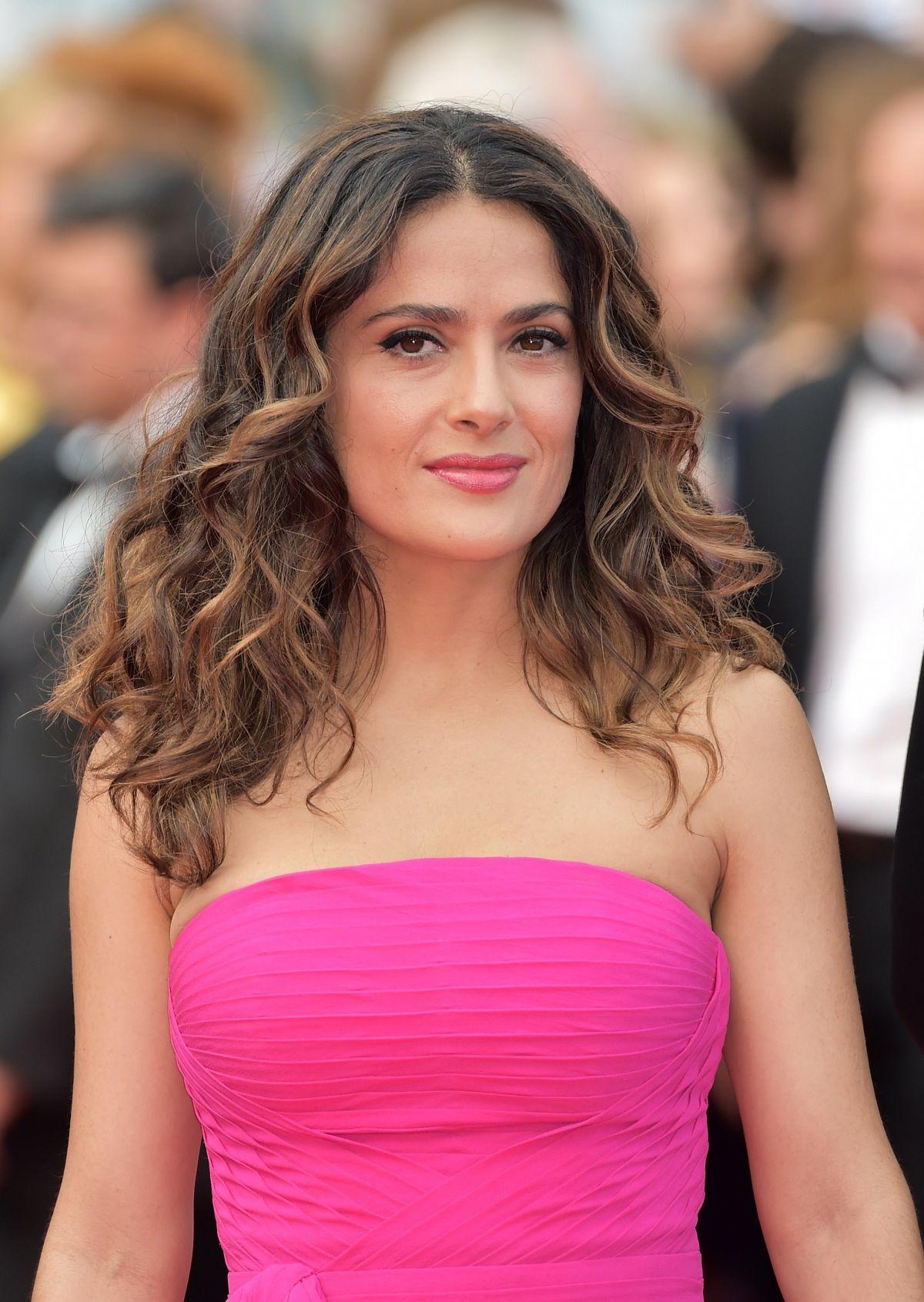 SALMA HAYEK at The Prohet Premiere at Cannes Film Festival ... Salma Hayek