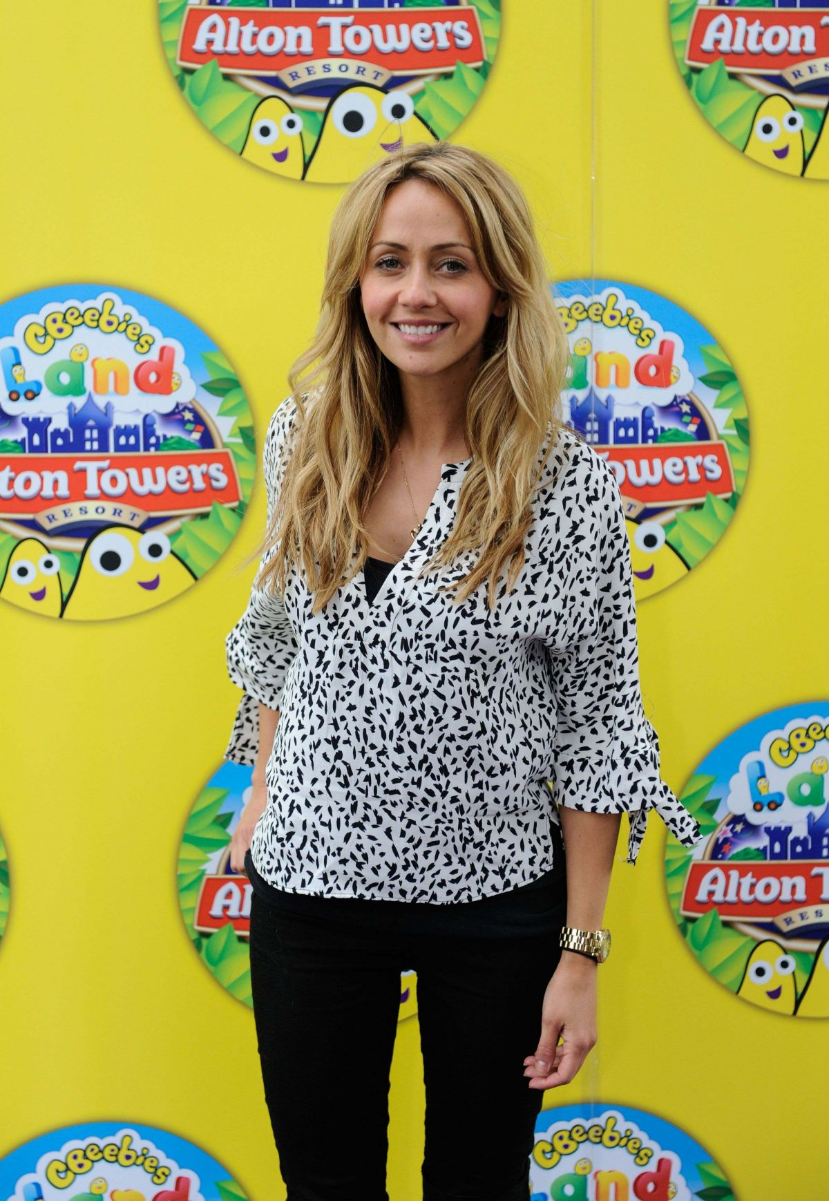 SAMI GHADIE at Cbeebies Land Launch at Alton Towers