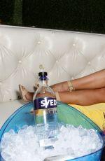 SHARNA BURGESS at OK Magazine