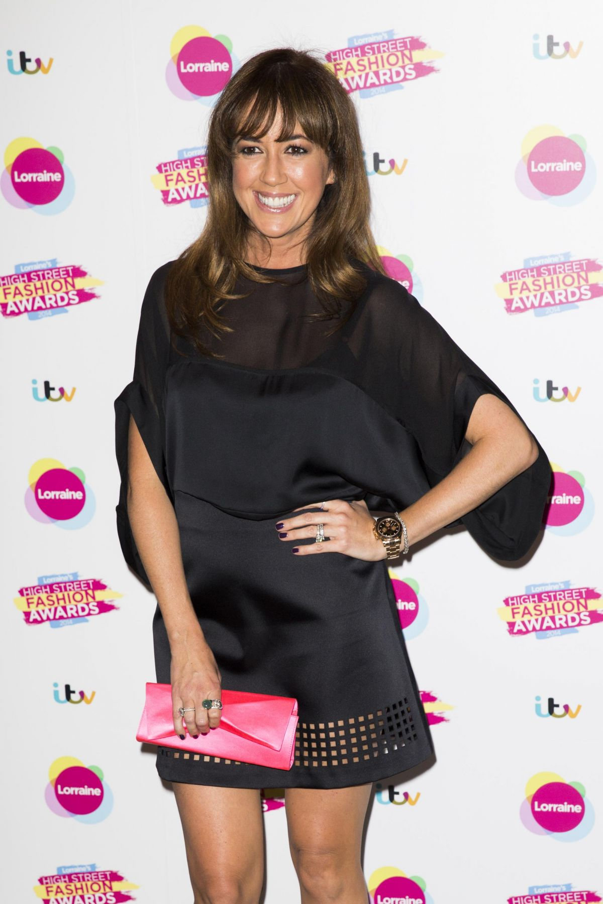 SHEREE MURPHY at Lorraine's High Street Fashion Awatds in London