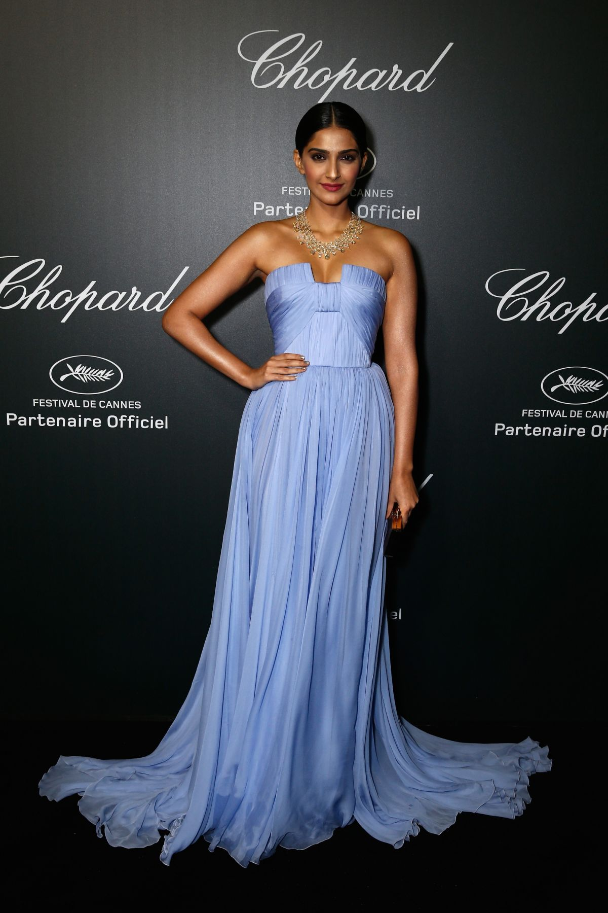 SONAM KAPOOR at Chopard Backstage Dinner and Afterparty
