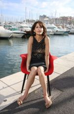 SOPHIE MARCEAU at a Photoshoot at Cannes Film Festival