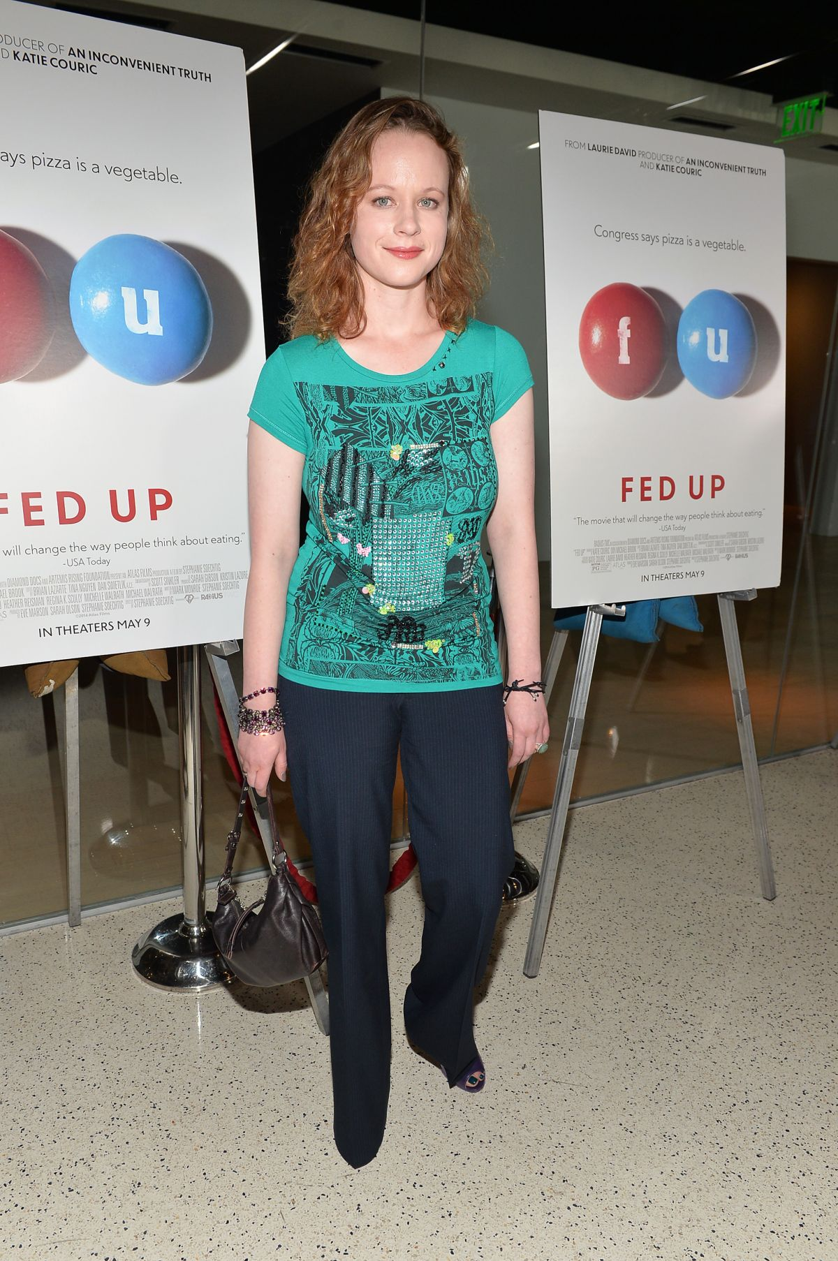THORA BIRCH at Fed Up Premiere in Los Angeles