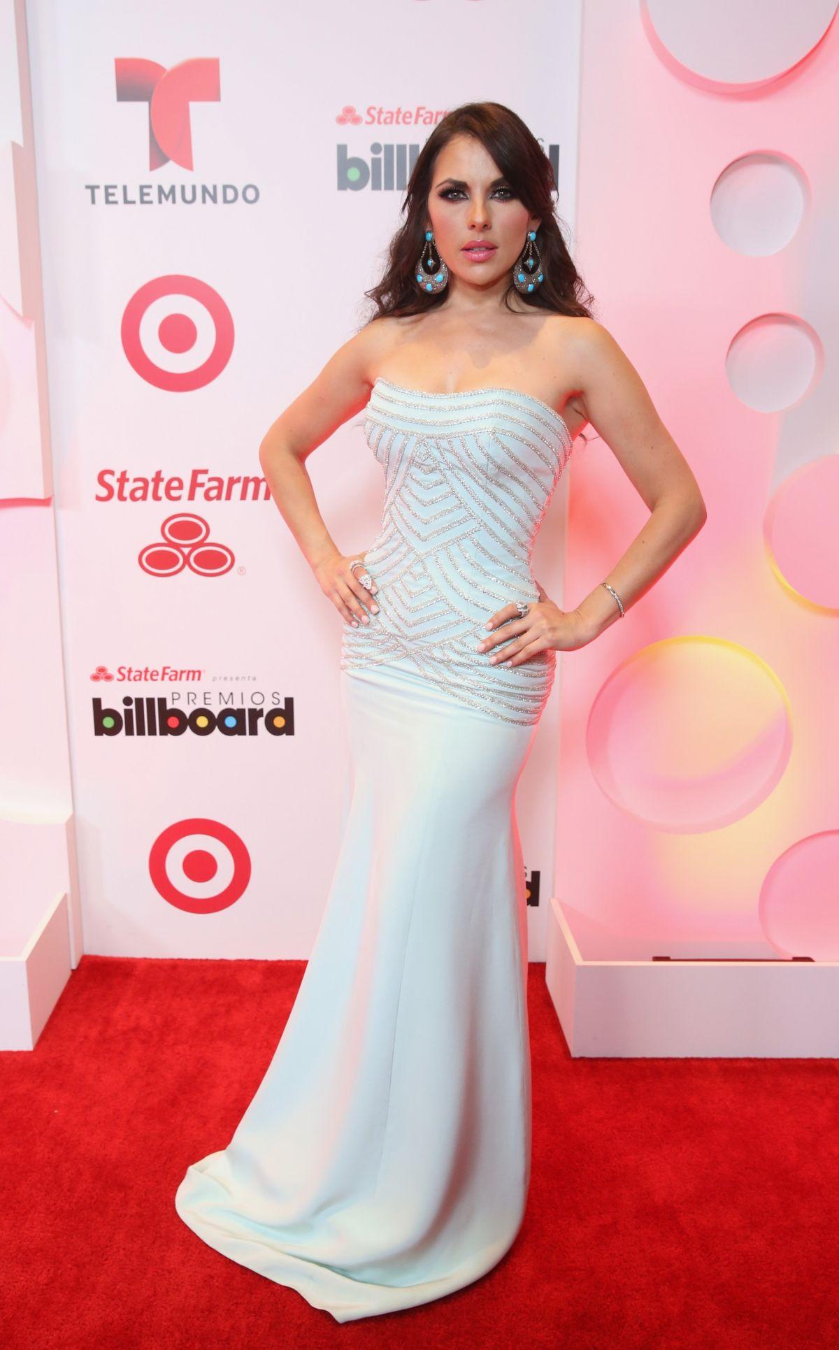 VANESSA VILLELA at 2014 Billboard Latin Music Awards in Miami