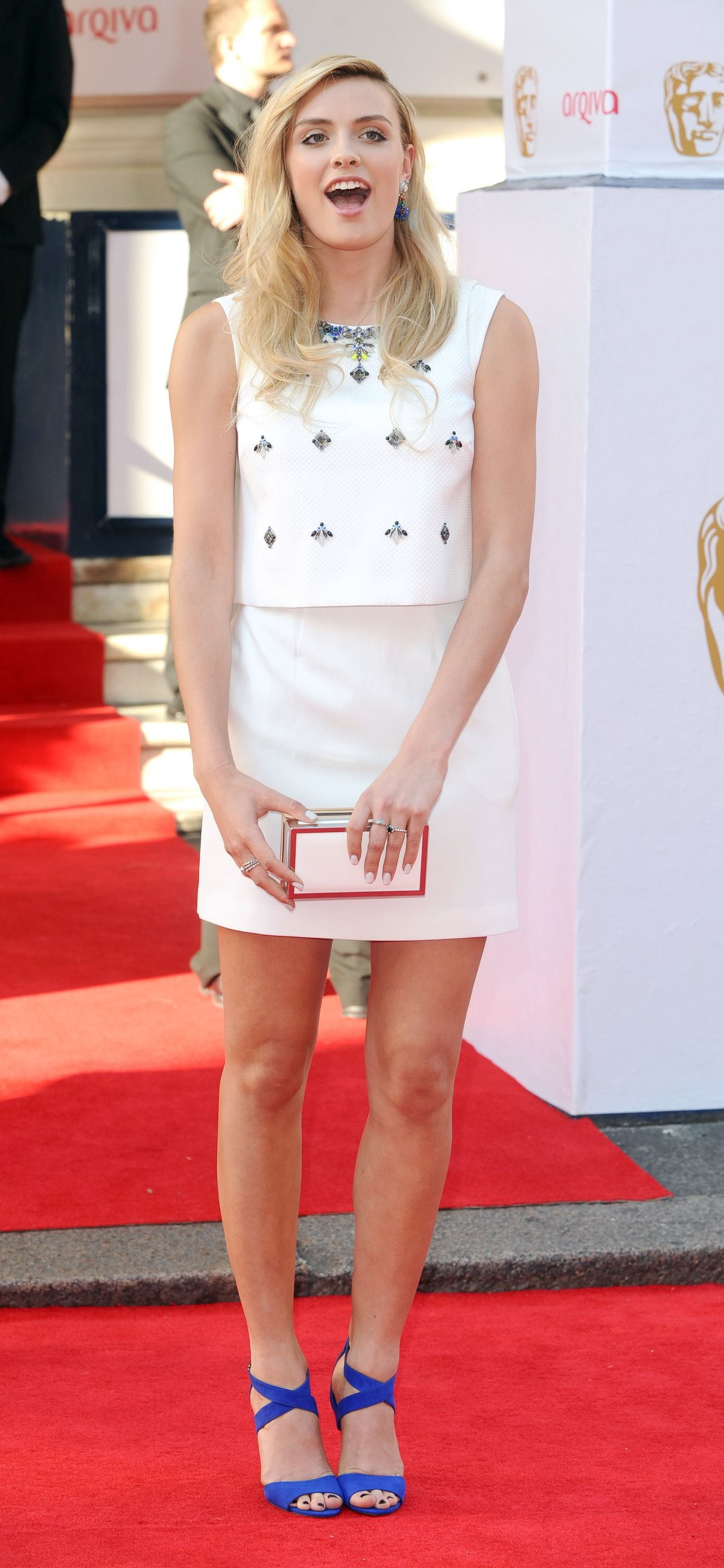 WALLIS DAY at British Academy Television Awards in London