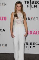 ZOE LEVIN at Palo Alto Premiere in Los Angeles