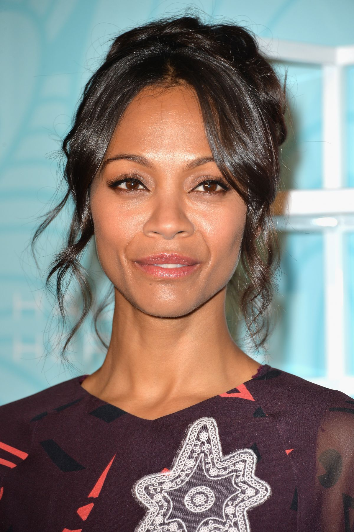 ZOE SALDANA at Step Up Inspiration Awards 2014 in Beverly Hills