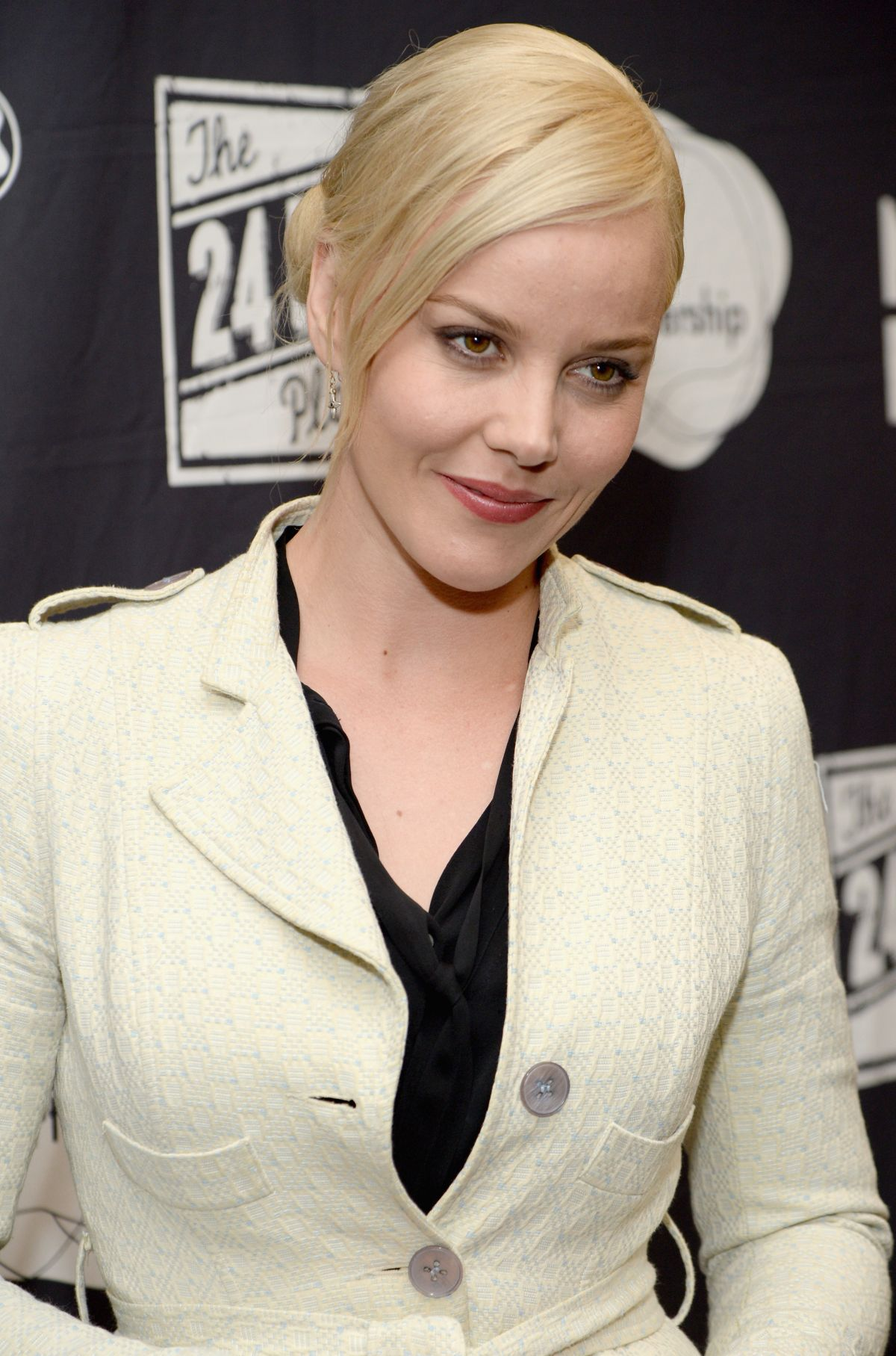 ABBIE CORNISH at Montblanc and Urban Arts 24 Hr Plays in Santa Monica Abbie Cornish