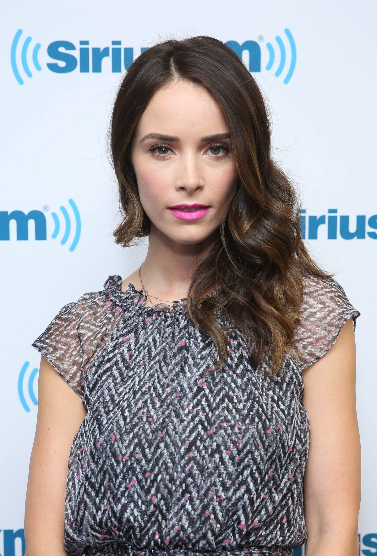 ABIGAIL SPENCER at SiriusXM Studios in New York