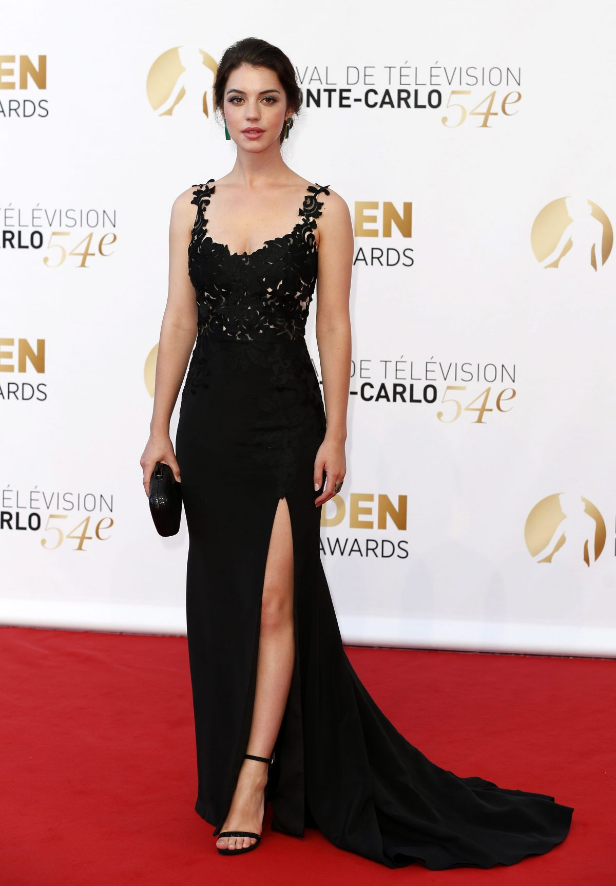 ADELAIDE KANE at 2014 Monte Carlo TV Festival Closing Ceremony