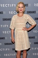 ADELAIDE KANE at Rectify Season 2 Premiere in Los Angeles