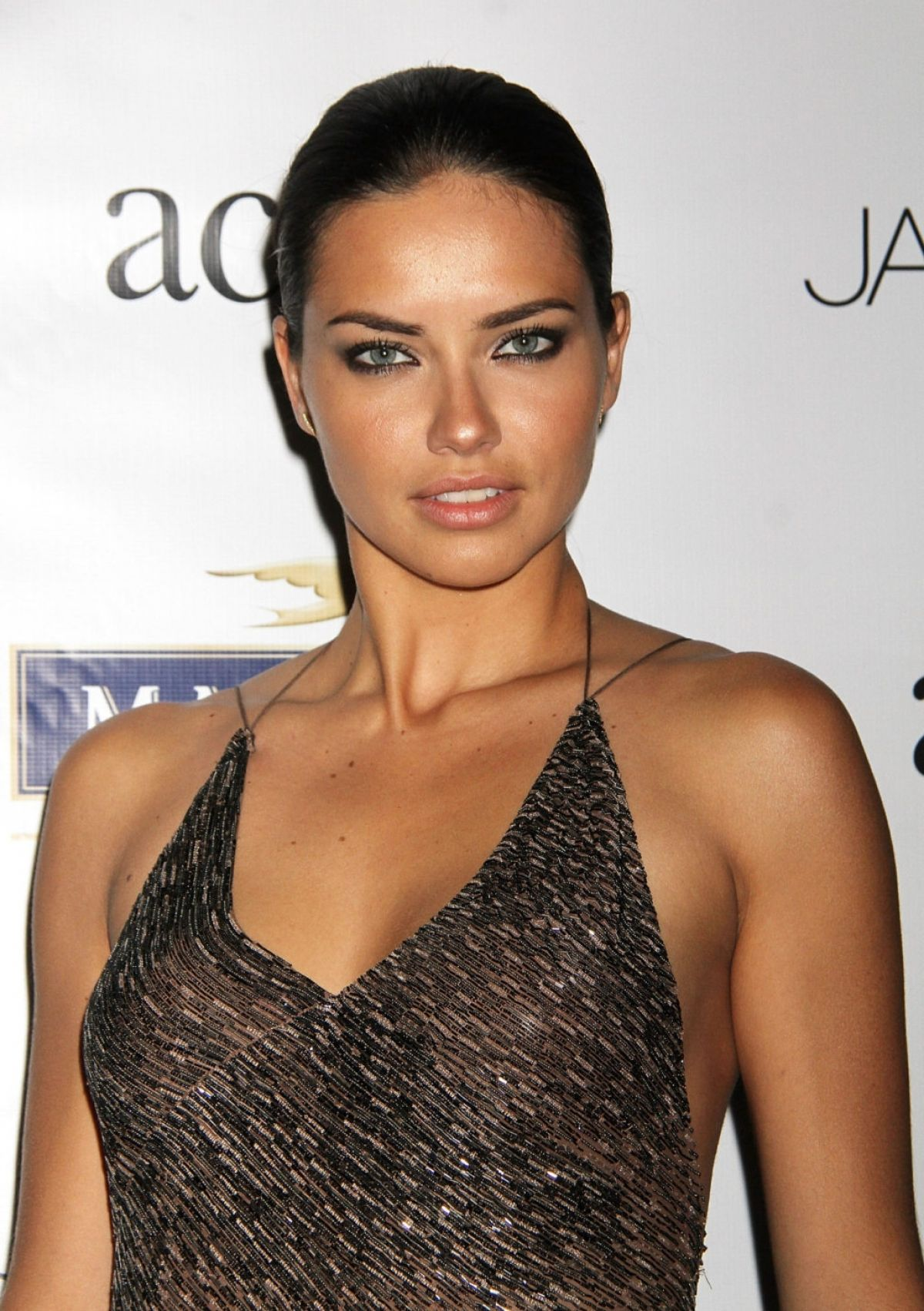 Adriana lima hairstyles 2014 - Adriana Lima At 2014 Young Friends Of Acria Summer Soiree In New York
