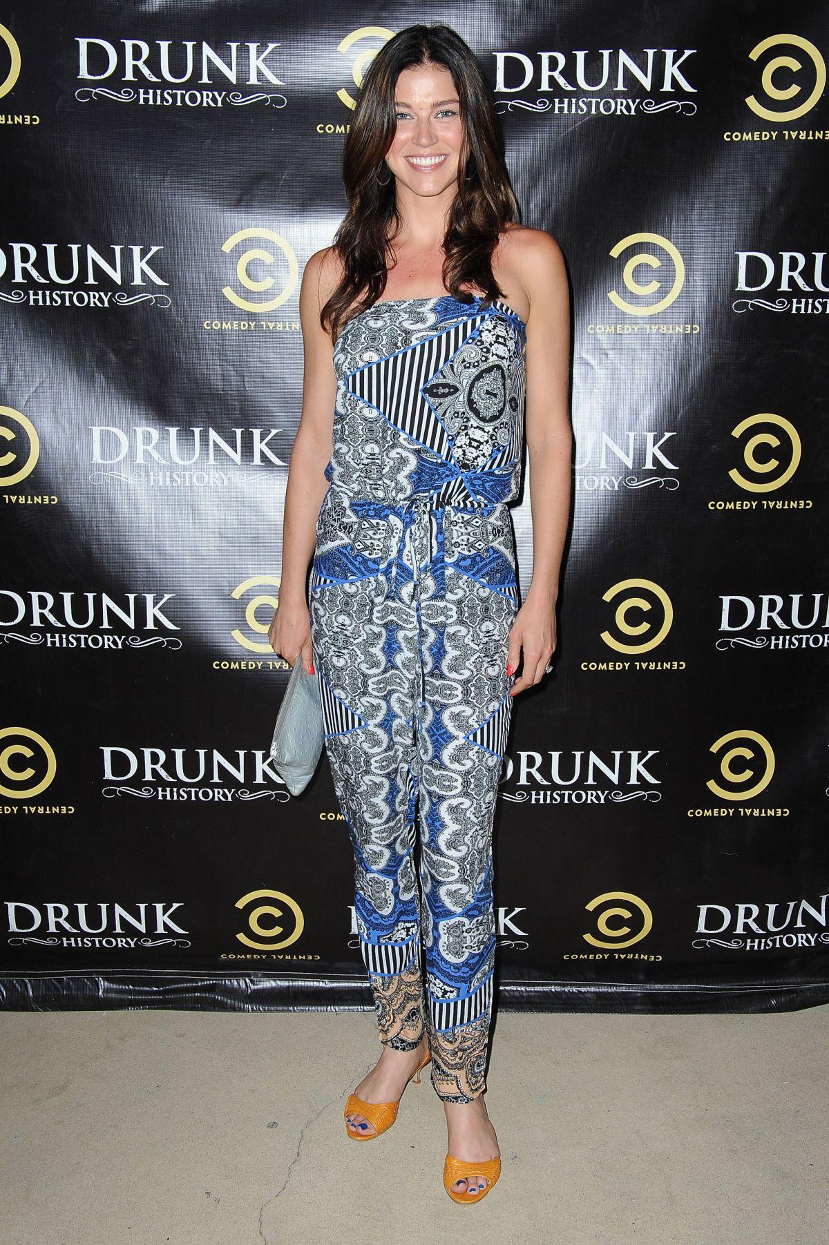 ADRIANNE PALICKI at Drunk History Season 2 Premiere Party in Glendale