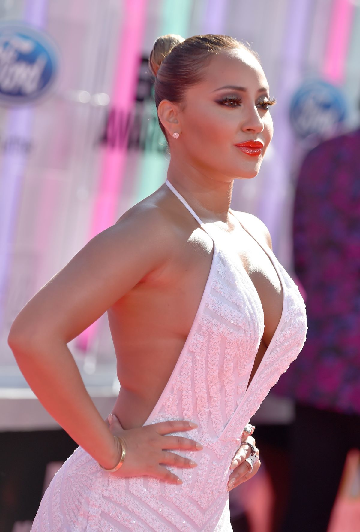 ADRIENNE BAILON at 2014 Bet Awards in Los Angeles