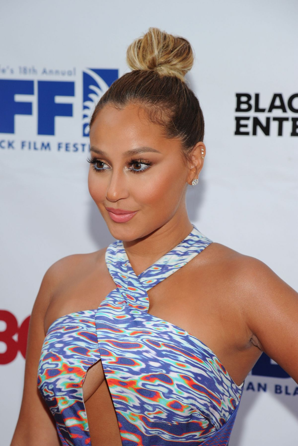 ADRIENNE BAILON at Think Like a Man Too Premiere in New York