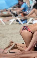 AIDA YESPICA in Bikini at a Beach in Formentera