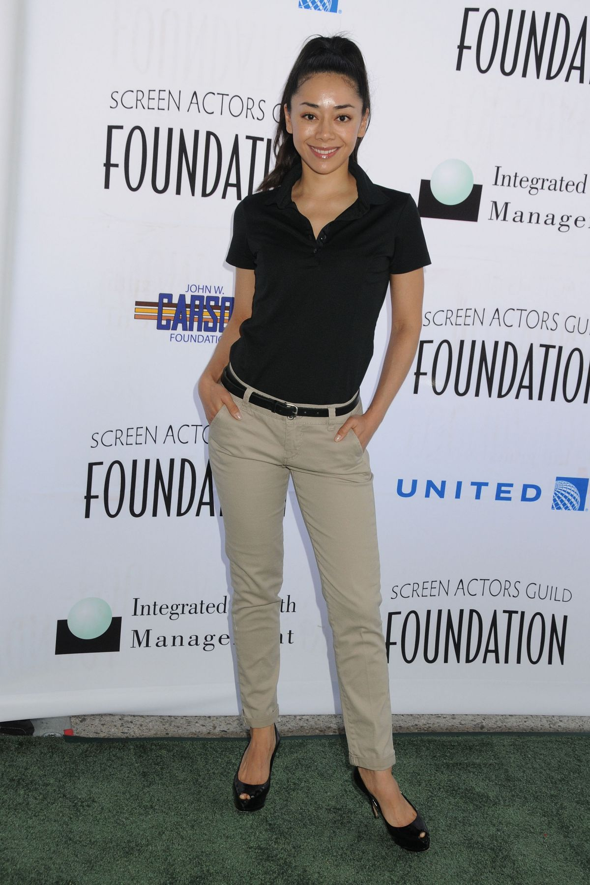 AIMEE GARCIA at SAG Foundation 5th Annual Golf Classic in Burbank
