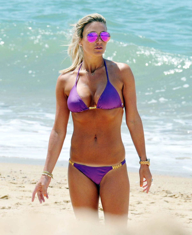 ALEX GERRAR in Bikini at Calheta Beach in Portugal