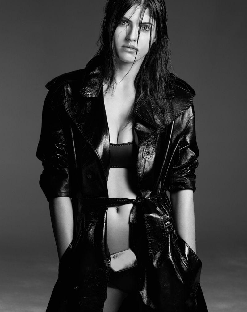 ALEXANDRA DADDARIO in Interview Magazine, June 2014 Issue