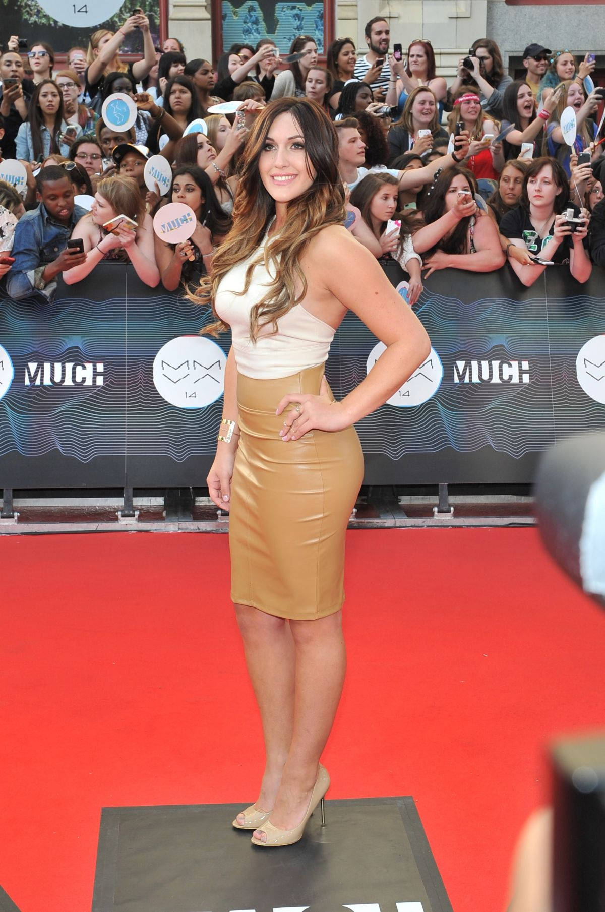 ALYSSA REID at Muchmusic Video Awards in Toronto