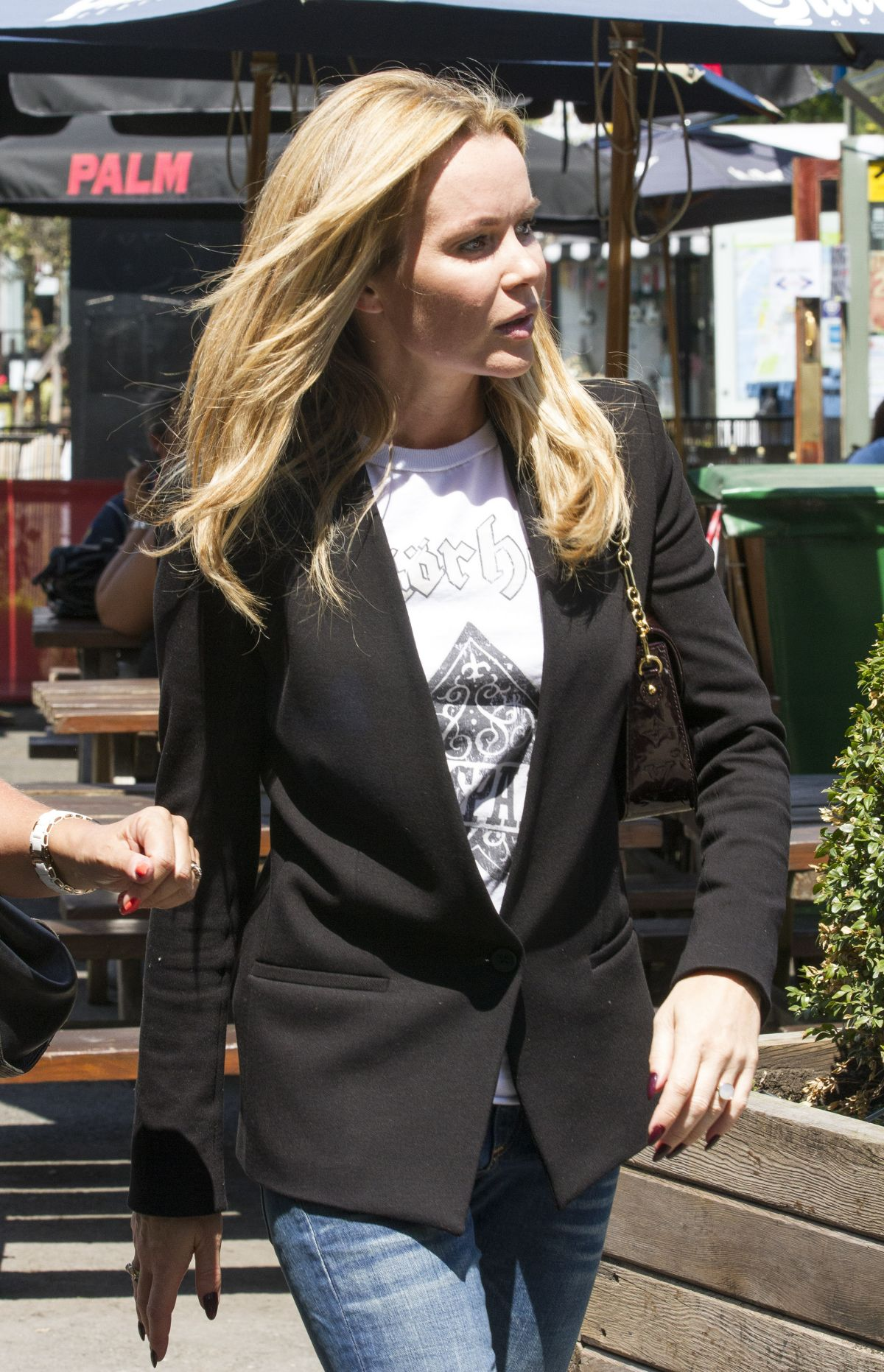 AMANDA HOLDEN Out and About in London 0906