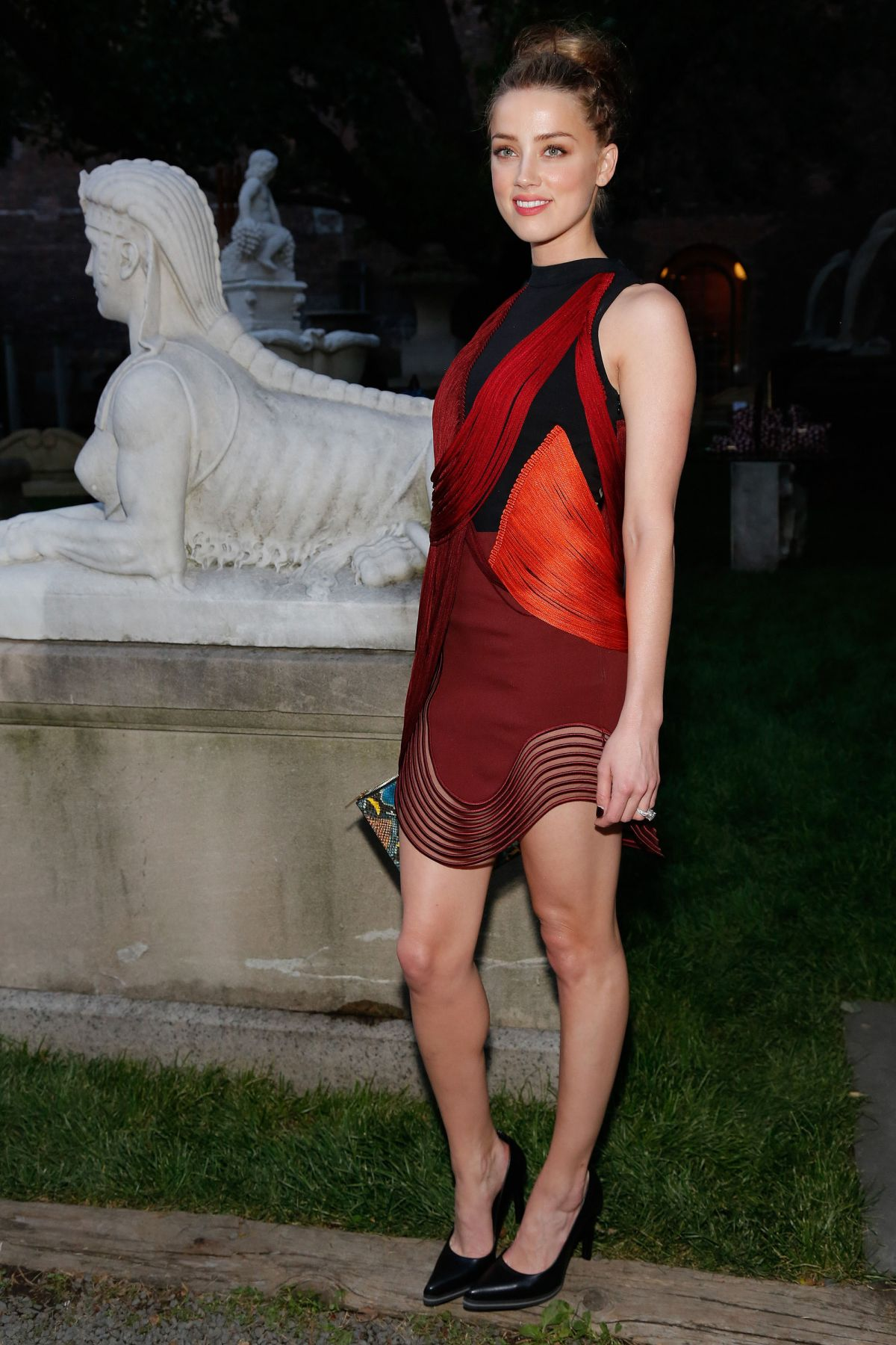 AMBER HEARD at Stella Mccartney Spring 2015 Presentation