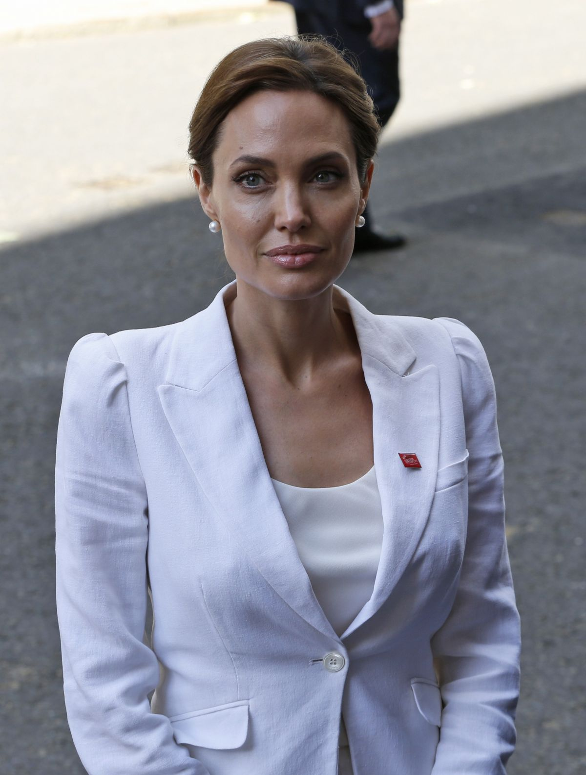 AMGELINA JOLIE at Global Summit to End Sexual Violence in Conflict