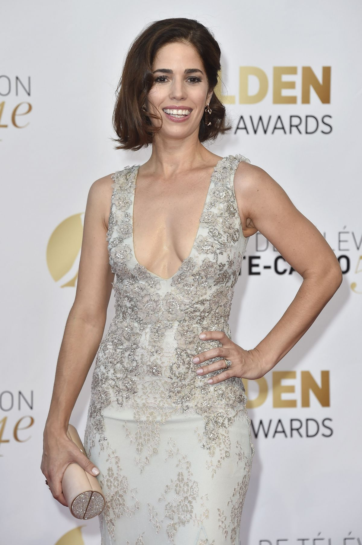 ANA ORTIZ at 2014 Monte Carlo TV Festival Closing Ceremony