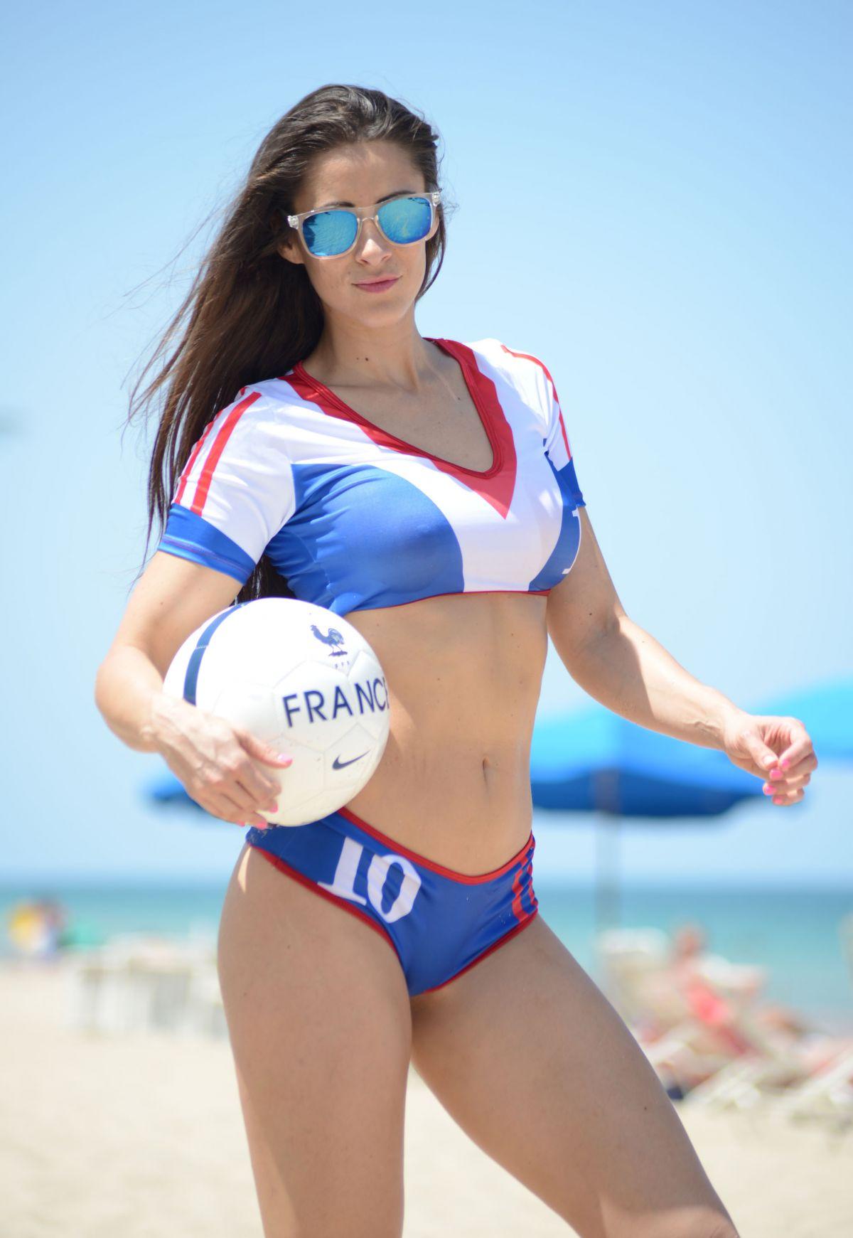 ANAIS ZANOTTI in Bikini at a Beach in Miami 2906