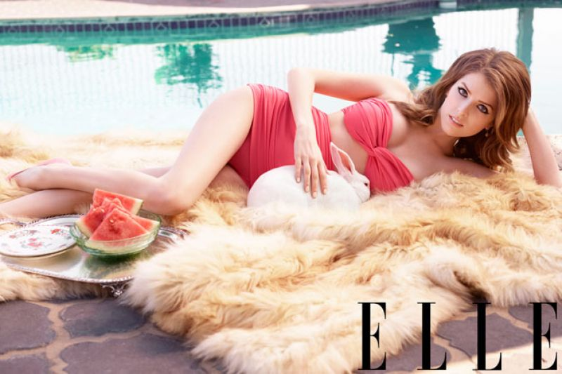 ANNA KENDRICK in Elle Magazine, July 2014 Issue - HawtCelebs