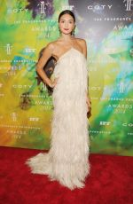 ANNA SCHILLING at Fragrance Foundation Awards in New York